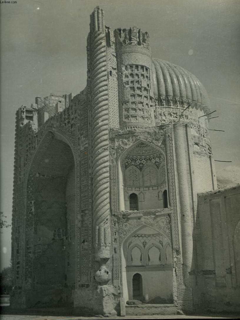 1 PHOTO ANCIENNE EN NOIR ET BLANC - MOSQUE OF KHAWAJA MOHAMMED PARSA IN BALIKH, AFGHANISTAN