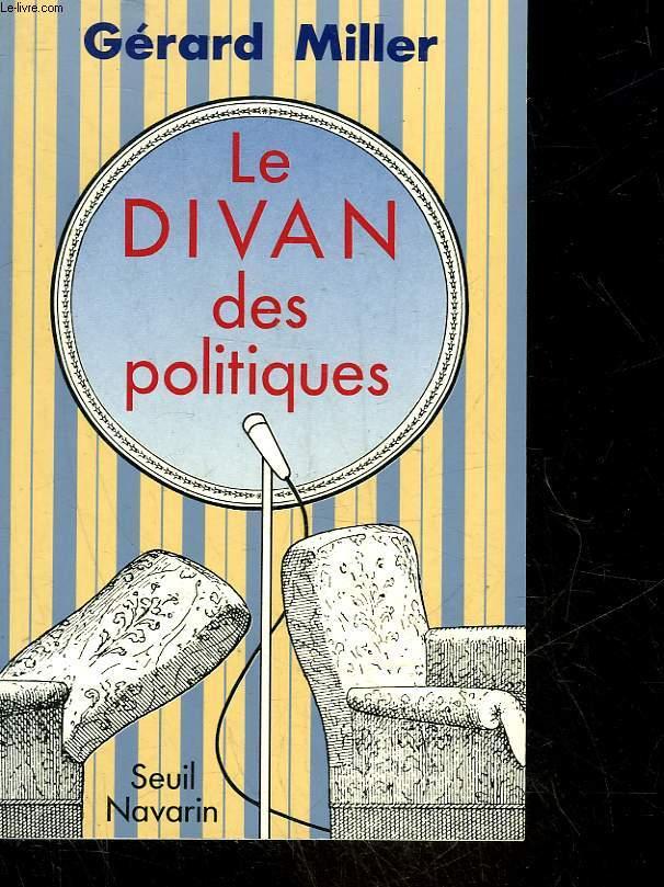 LE DIVAN DES POLITIQUES