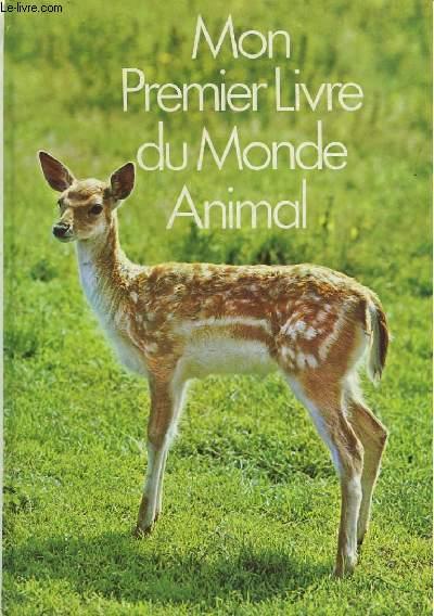 MON PREMIER LIVRE DU MONDE ANIMAL