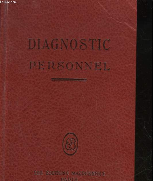 DIAGNOSTIC PERSONNEL