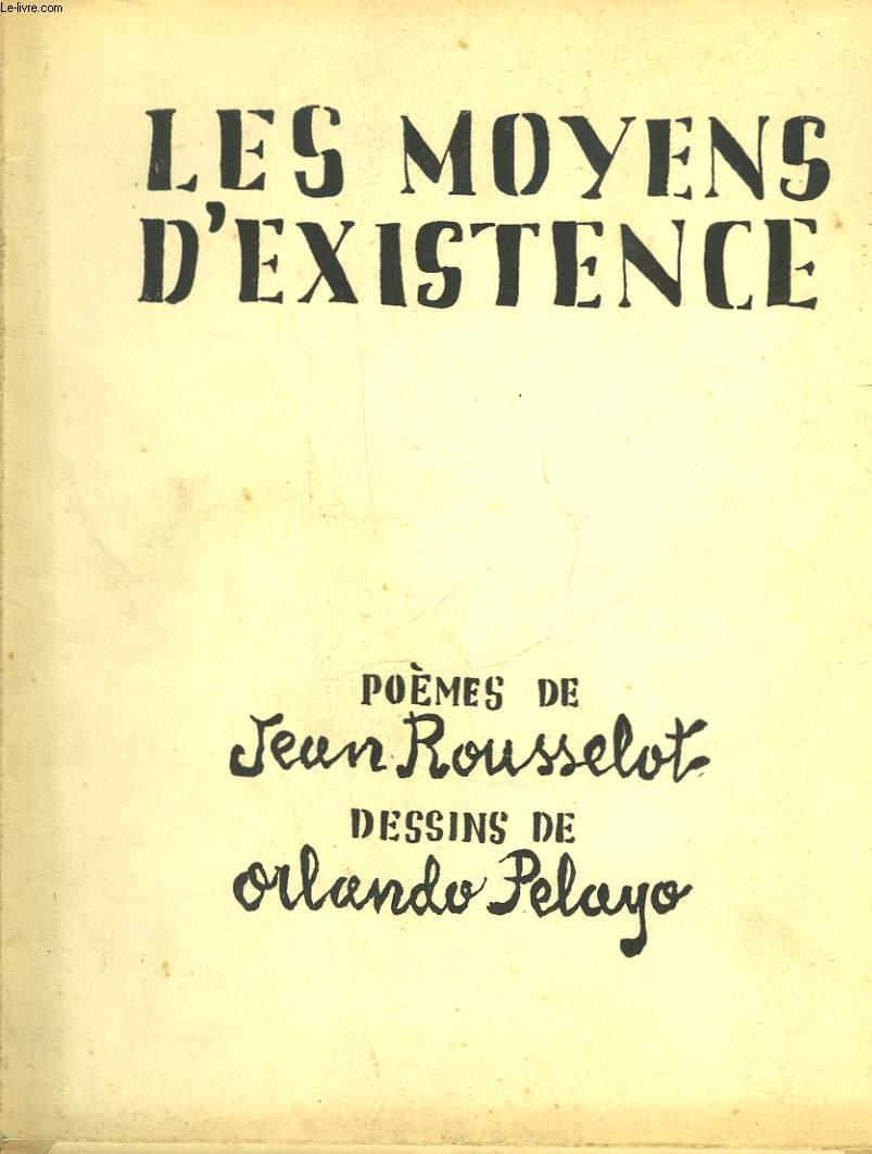 LES MOYENS D'EXISTENCE
