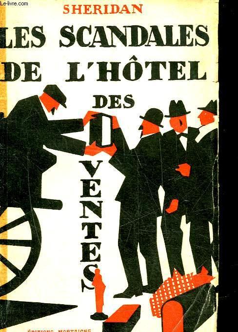 LES SCANDALES DE L'HOTEL DES VENTES