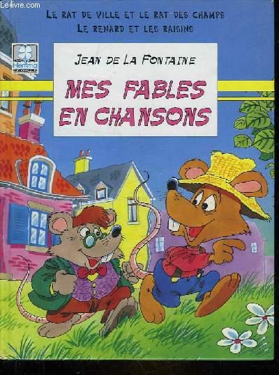 LE RAT DES VILLE ET LE RAT DES CHAMPS