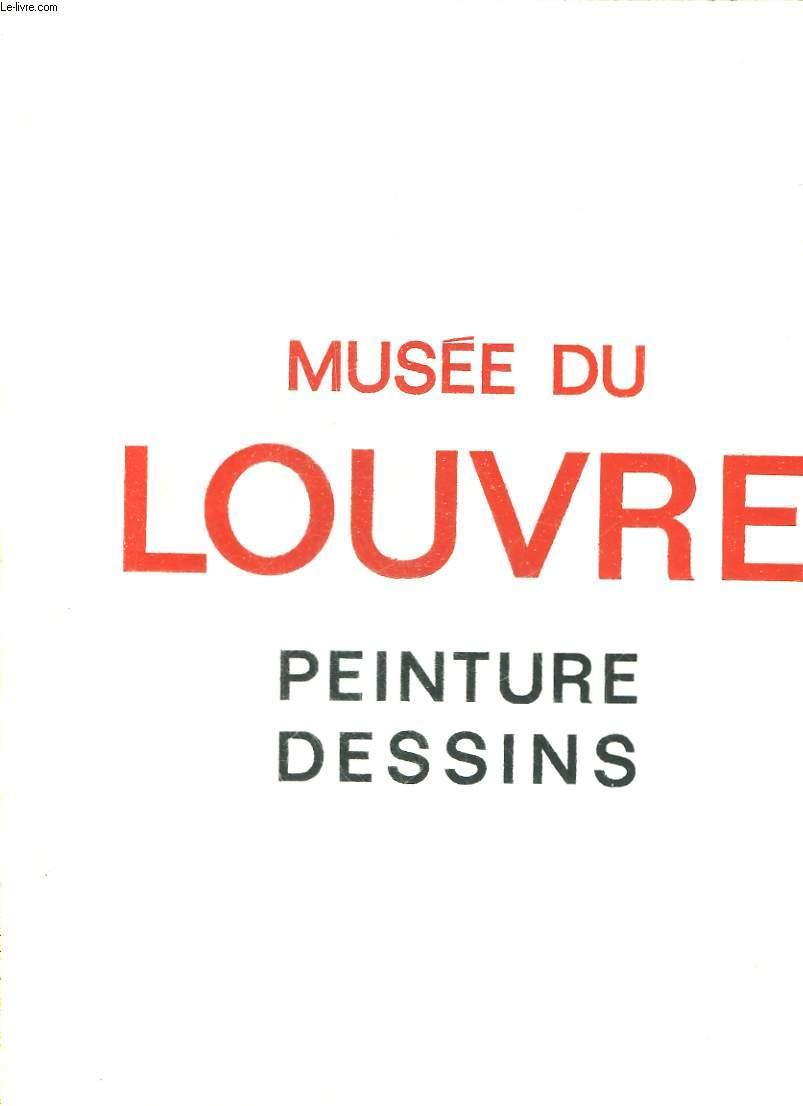 MUSEE DU LOUVRE - PEINTURE DESSINS - ECOLE FRANCAISE
