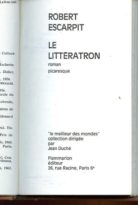 LE LITTERATRON