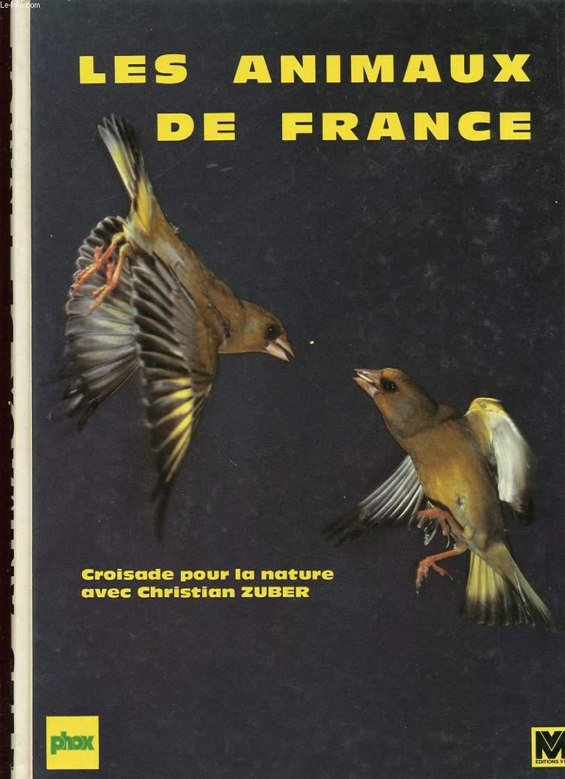 LES ANIMAUX DE FRANCE