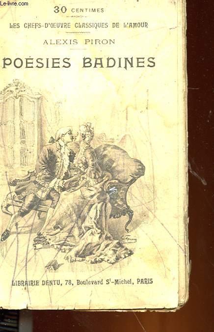POESIES BADINES