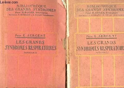 LES SYNDROMES RESPIRATOIRES - 2 FASCICULES