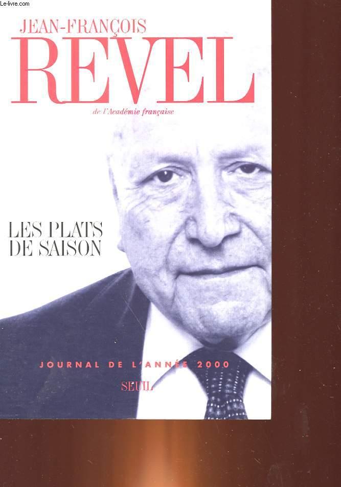 LES PLATS DE SAISON - JOURNAL DE L'ANNEE 2000