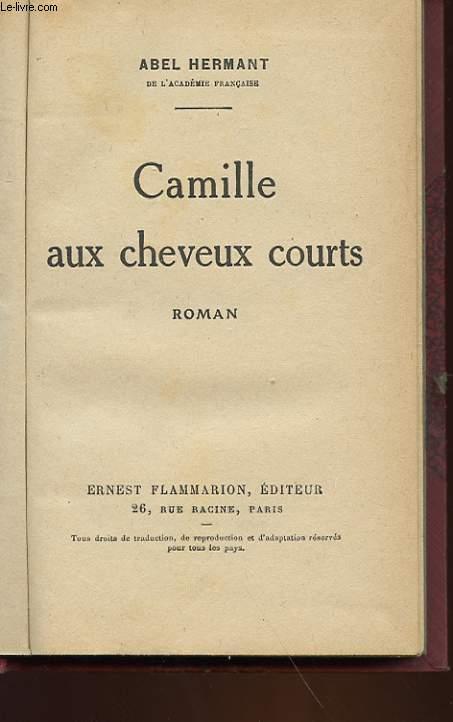 CAMILLE AUX CHEVEUX COURT