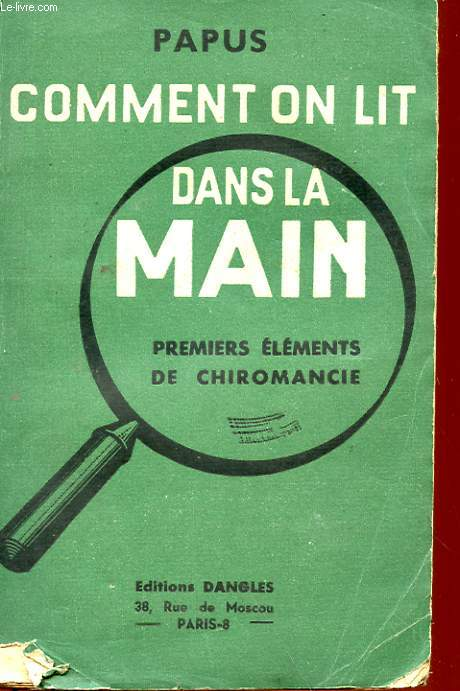 COMMENT ON LIT DANS LA MAIN - PREMIERS ELEMENTS DE CHIROMANCIE