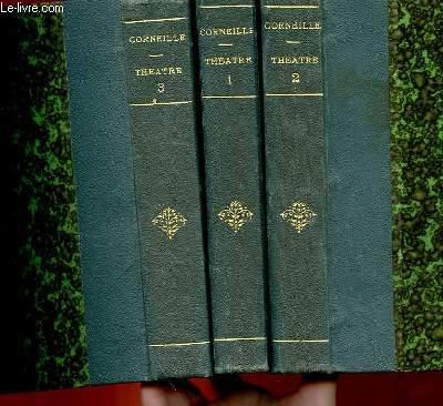 OEUVRES DE P. CORNEILLE - THEATRE COMPLET - 3 TOMES