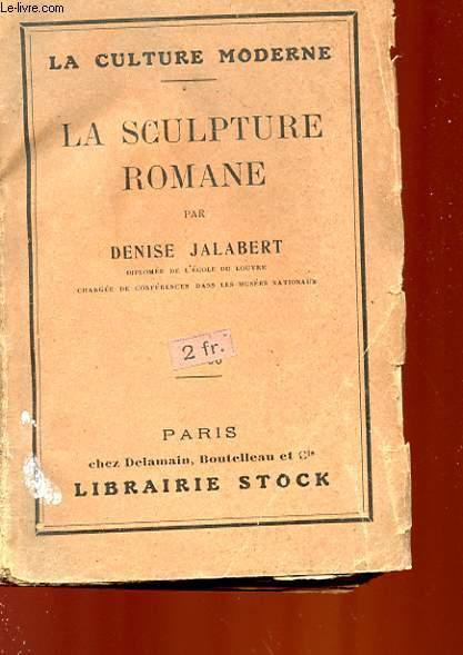 LA SCULPTURE ROMANE