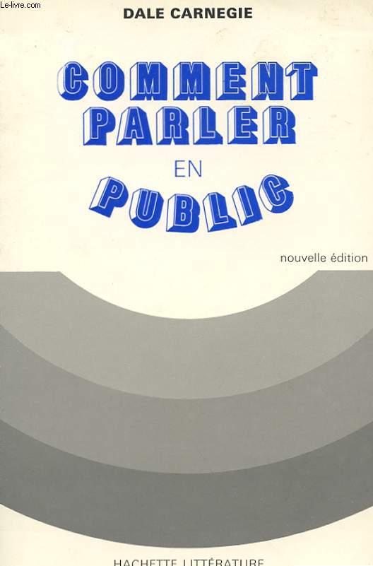 COMENT PARLER EN PUBLIC