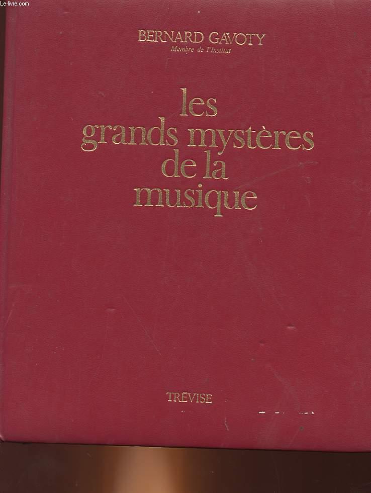 LES GRANDS MYSTERES DE LA MUSIQUE