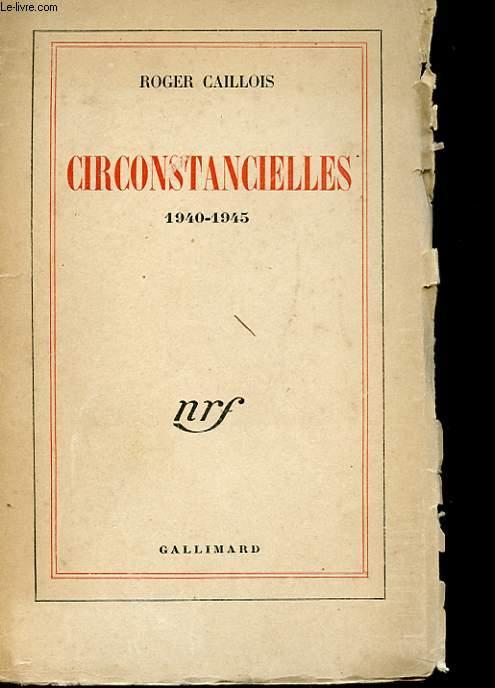 CRICONSTANCIELLES 1940 - 1945