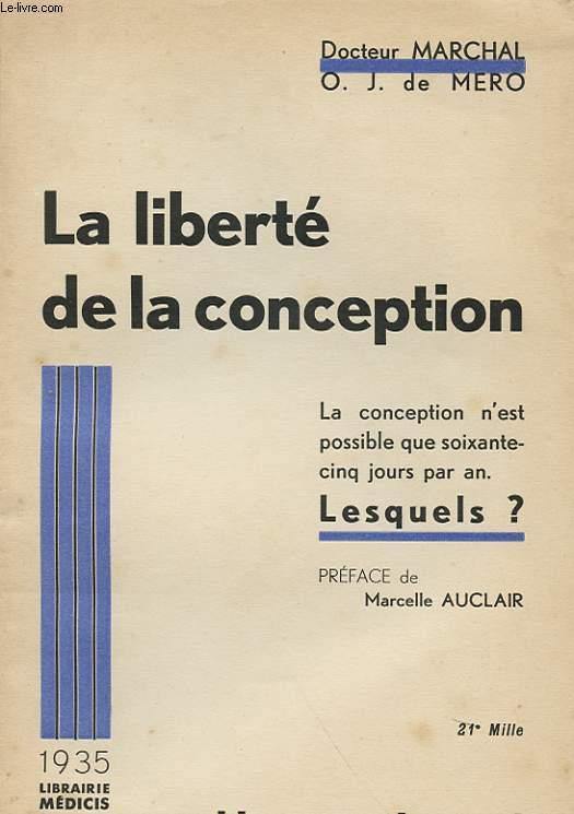 LA LIBERTE DE LA CONCEPTION