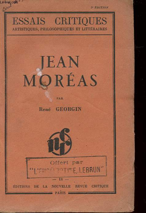 JEAN MOREAS