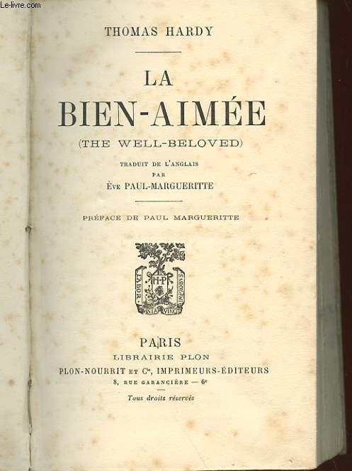 LA BIEN-AIMEE - THE WELL-BELOVED