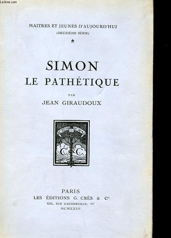 SIMON LE PATHETIQUE
