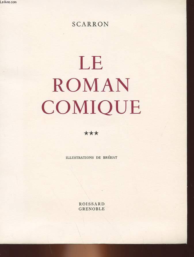 LE ROMAN COMIQUE - 3 TOMES