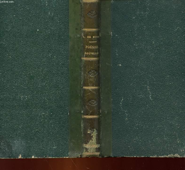 POESIES NOUVELLES DE ALFRED DE MUSSET 1836 - 1852