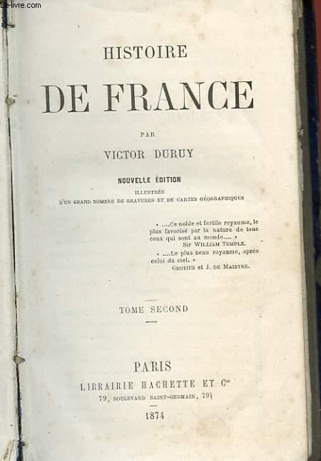 HISTOIRE DE FRANCE - TOME 2