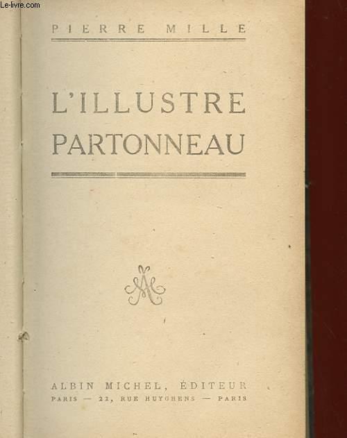 L'ILLUSTRE PARTONNEAU