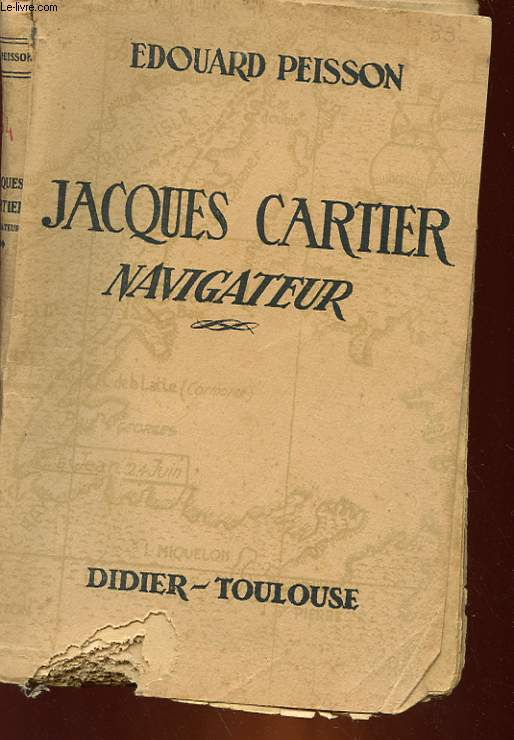 JACQUES CARTIER NAVIGATEUR