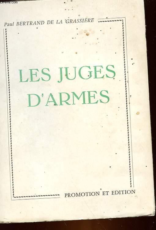 LES JUGES D'ARMES