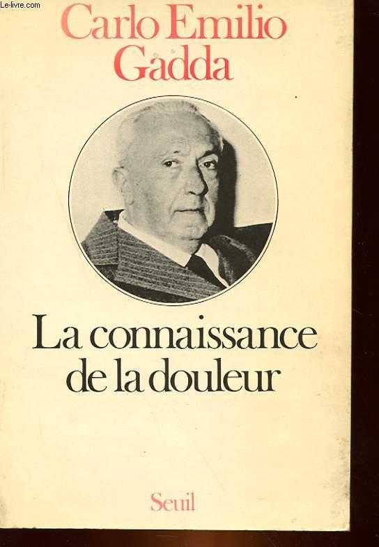 LA CONNAISSANCE DE LA DOULEUR