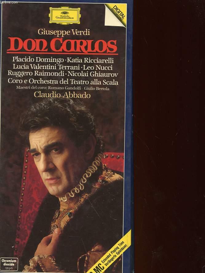 DON CARLOS : CLAUDIO ABBADO