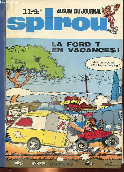 SPIROU ALBUM DU JOURNAL N°114 - 32° ANNEE du N°1629 au n°1641