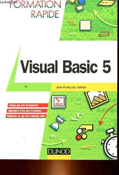 VISUAL BASIC 5 - FORMATION RAPIDE