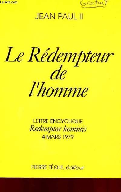 LE REDEMPTEUR DE L'HOMME