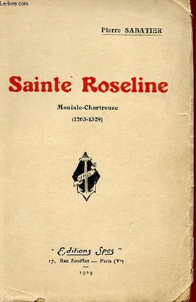 SAINTE ROSELINE - MONIALE-CHARTREUSE (1263-1329)