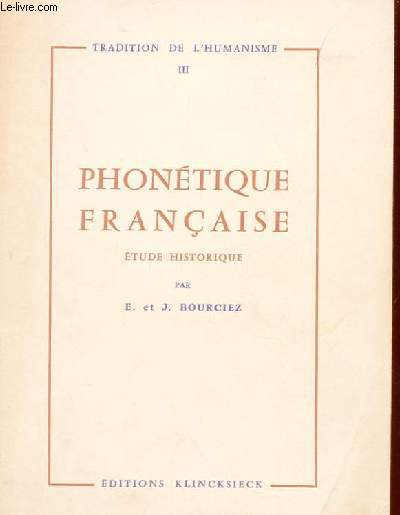 PHONETIQUE FRANCAISE