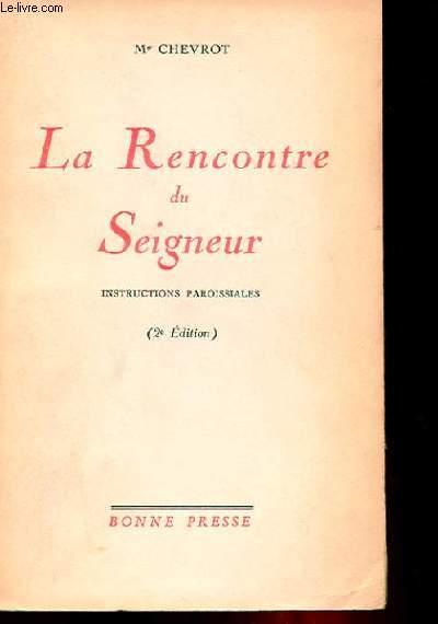 LA RENCONTRE DU SEIGNEUR