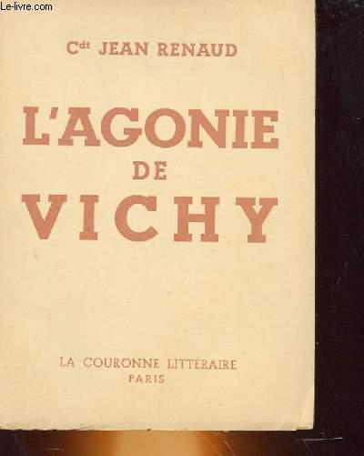 L'AGONE DE VICHY