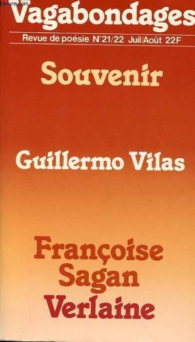 REVUE DE POESIE N° 21/22 - SOUVENIRS