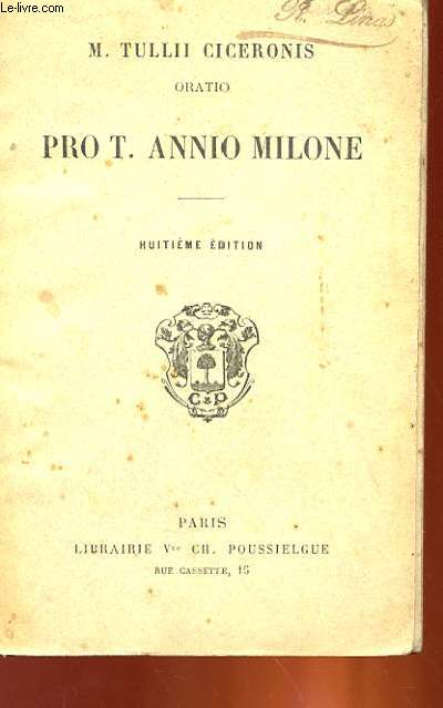 PRO T. ANNIO MILONE