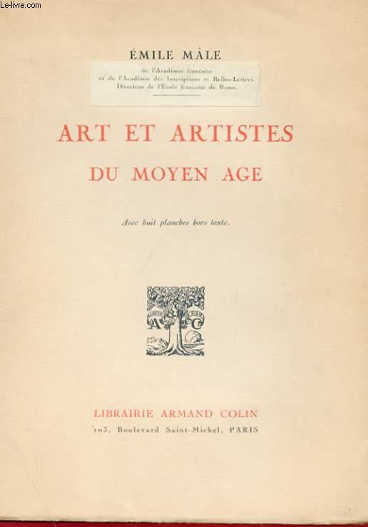 ART ET ARTISTE DU MOYEN AGE