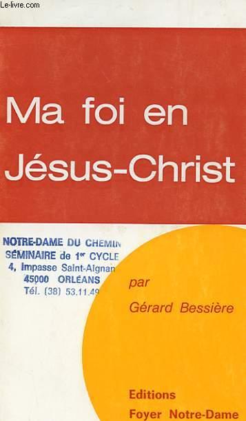 MA FOI EN JESUS-CHRIST