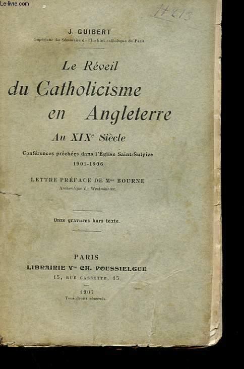 LE REVEIL DU CATHOLICISME