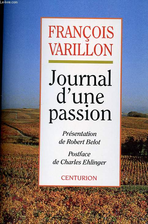 JOURNAL D'UNE PASSION