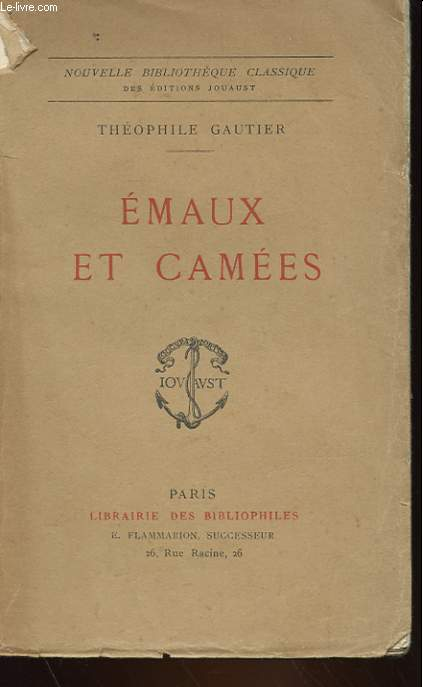 EMAUX ET CAMEES - POESIES