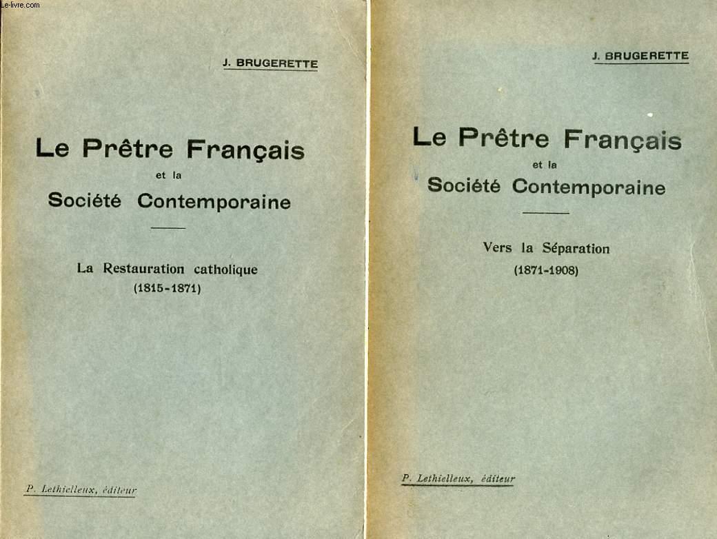LE PRETRE FRANCAIS ET LA SOCIETE CONTEMPORAINE