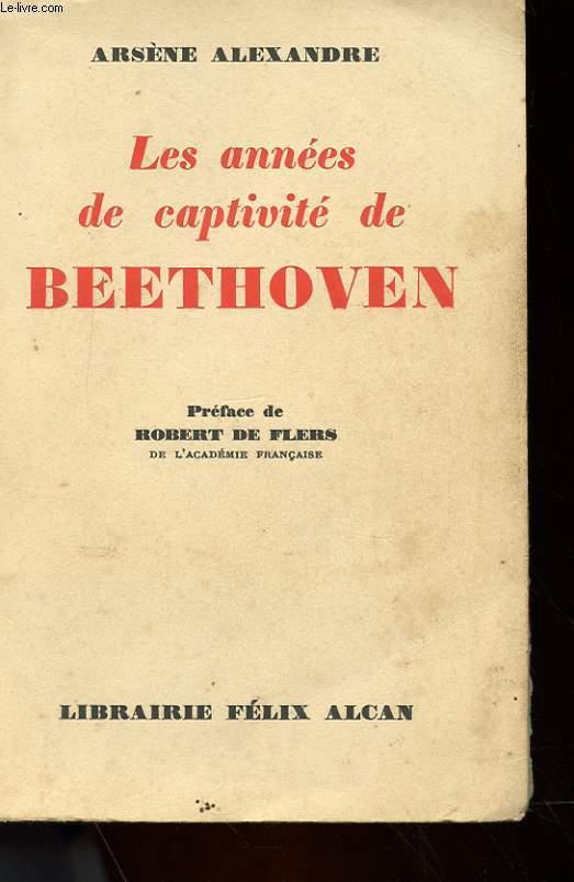LES ANNES DE CAPTIVITE DE BEETHOVEN (1819-1827)