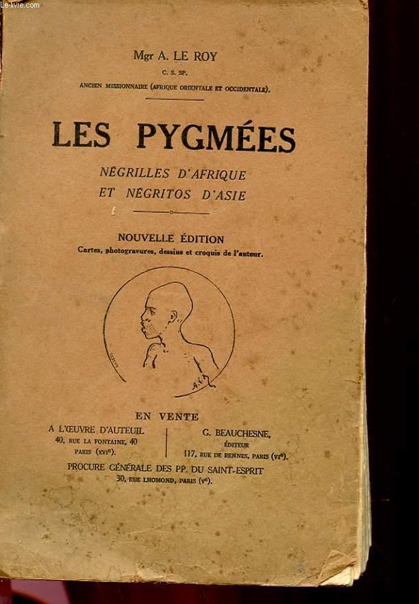 LES PYGMEES- NEGRILLES D'AFRIQUE ET NEGRITOS D'ASIE
