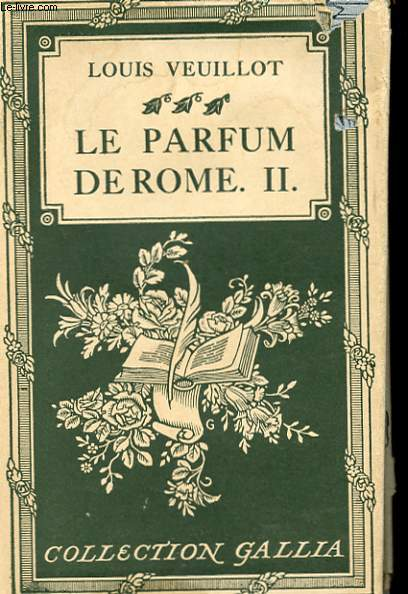 LE PARFUM DE ROME TOME II